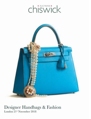 bb9053aa95b6 Chiswick-Auctions-Designer-Handbags-and-Fashion-November-2018 by ...