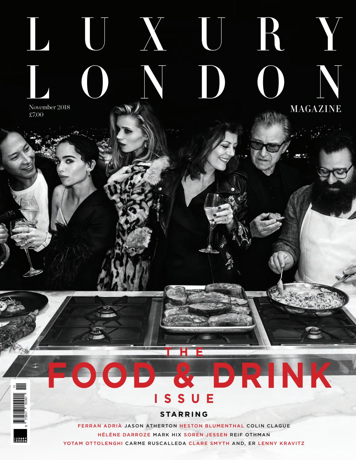 cf9581a43d06 Luxury London Magazine November 2018 by Luxury London Media - issuu