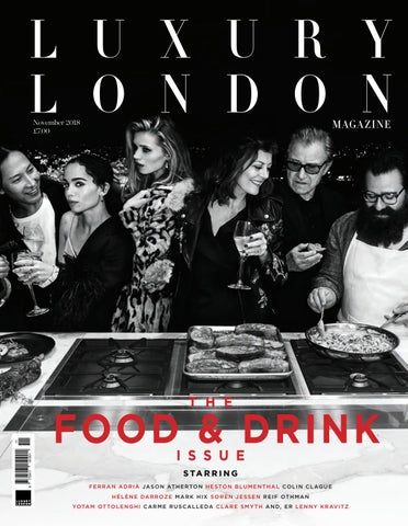 1e2fa005f99cf Luxury London Magazine November 2018 by Luxury London Media - issuu