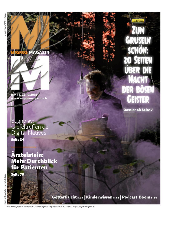 Migros Magazin 44 2018 d VS by Migros Genossenschafts Bund