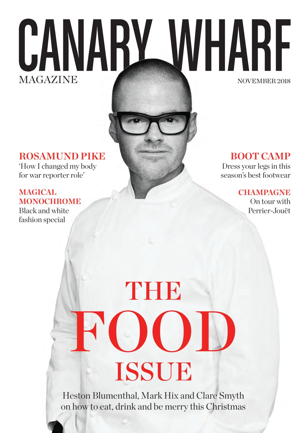 Canary Wharf Magazine November 2018 by Luxury London Media - issuu
