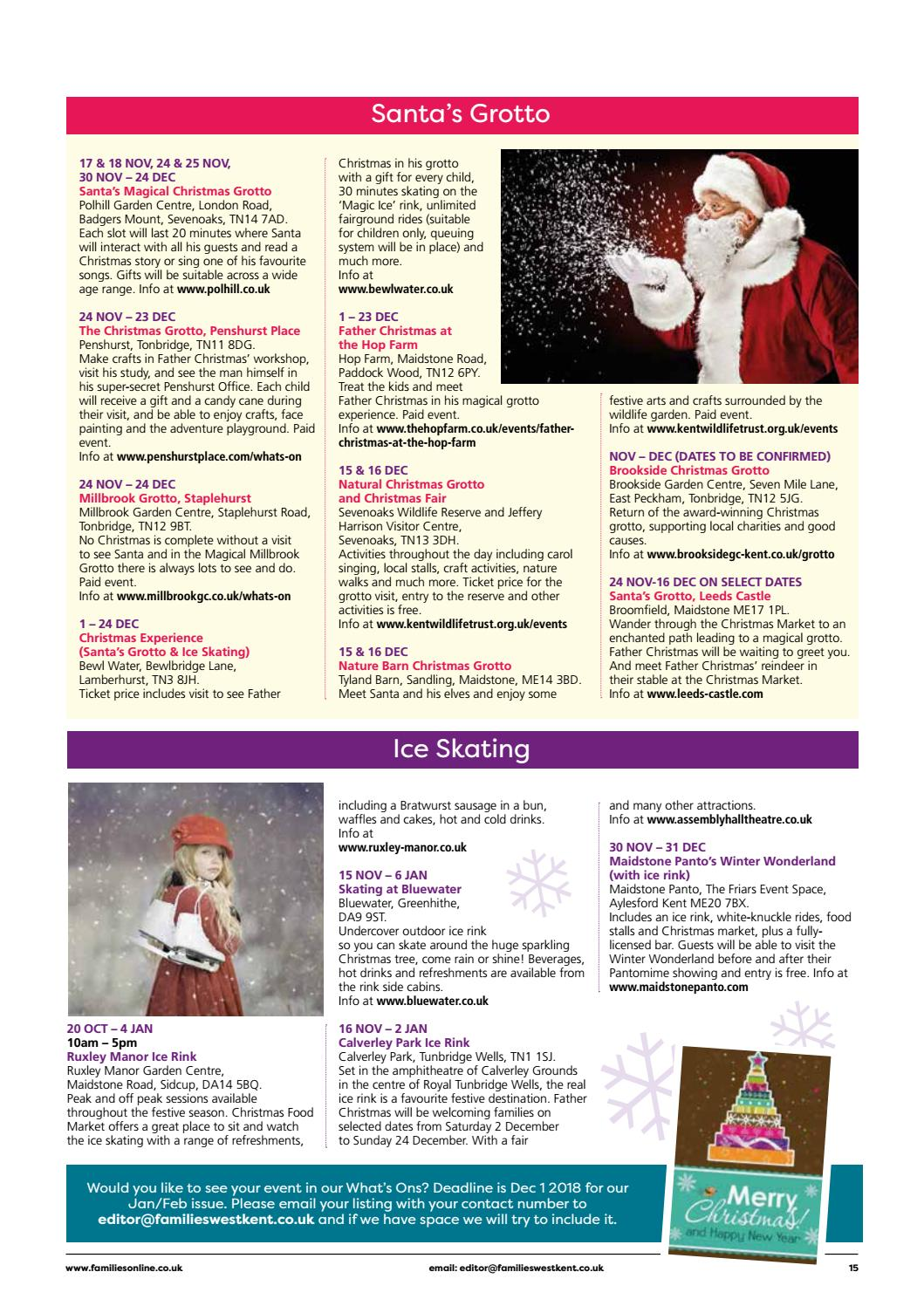 Families West Kent Nov Dec 2018 By Families Magazine Issuu