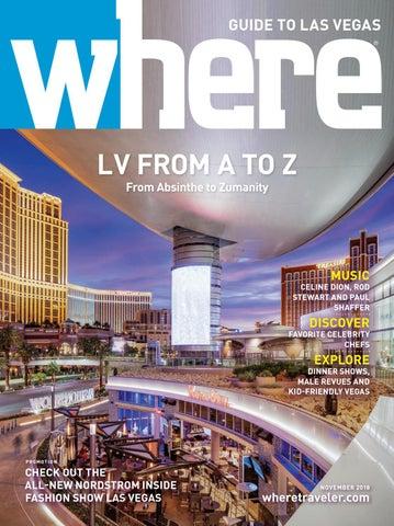 7bd6ec228dd Where Magazine Las Vegas Nov 2018 by Morris Media Network - issuu