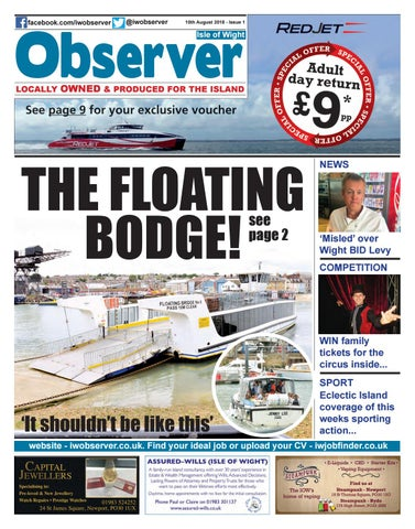 62b6dc69fb Isle of Wight Observer: Issue 001 by Isle of Wight Observer - issuu