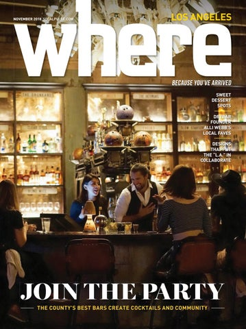 Where Magazine Los Angeles Nov 2018 by Morris Media Network
