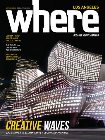 Where Magazine Los Angeles Oct 2018 by Morris Media Network - issuu 76fc055dae