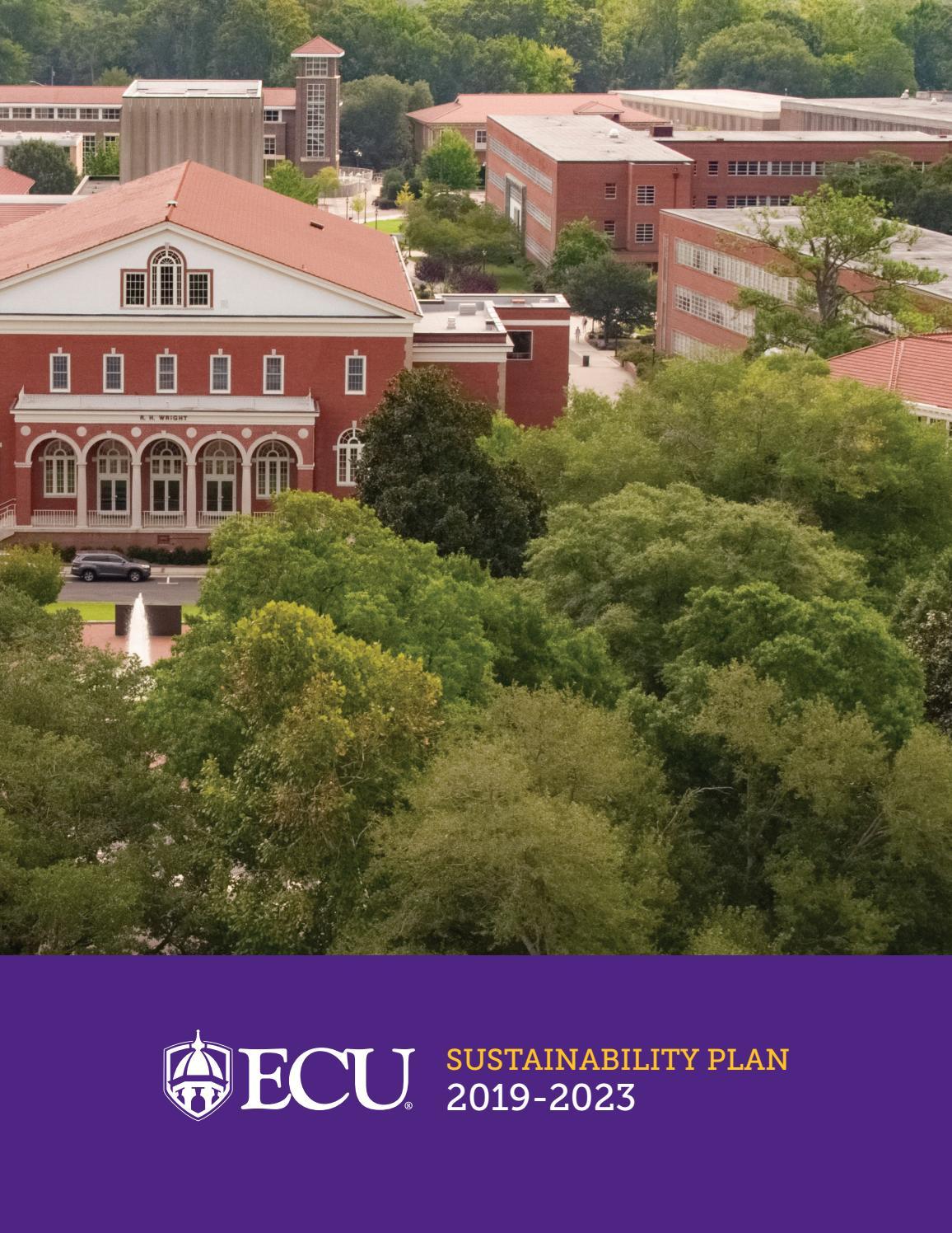 Ecu Sustainability Plan By Sustain Ecu Issuu