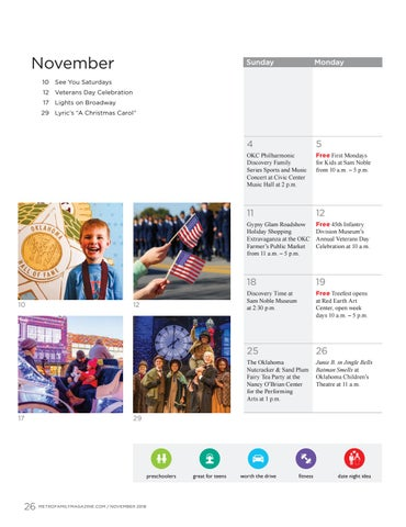 Page 26 of November calendar