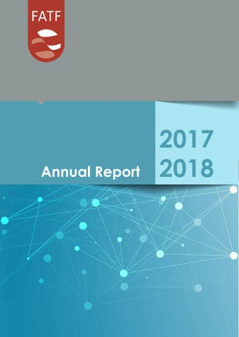 FATF Annual Report 2017-2018 by Financial Action Task Force - issuu