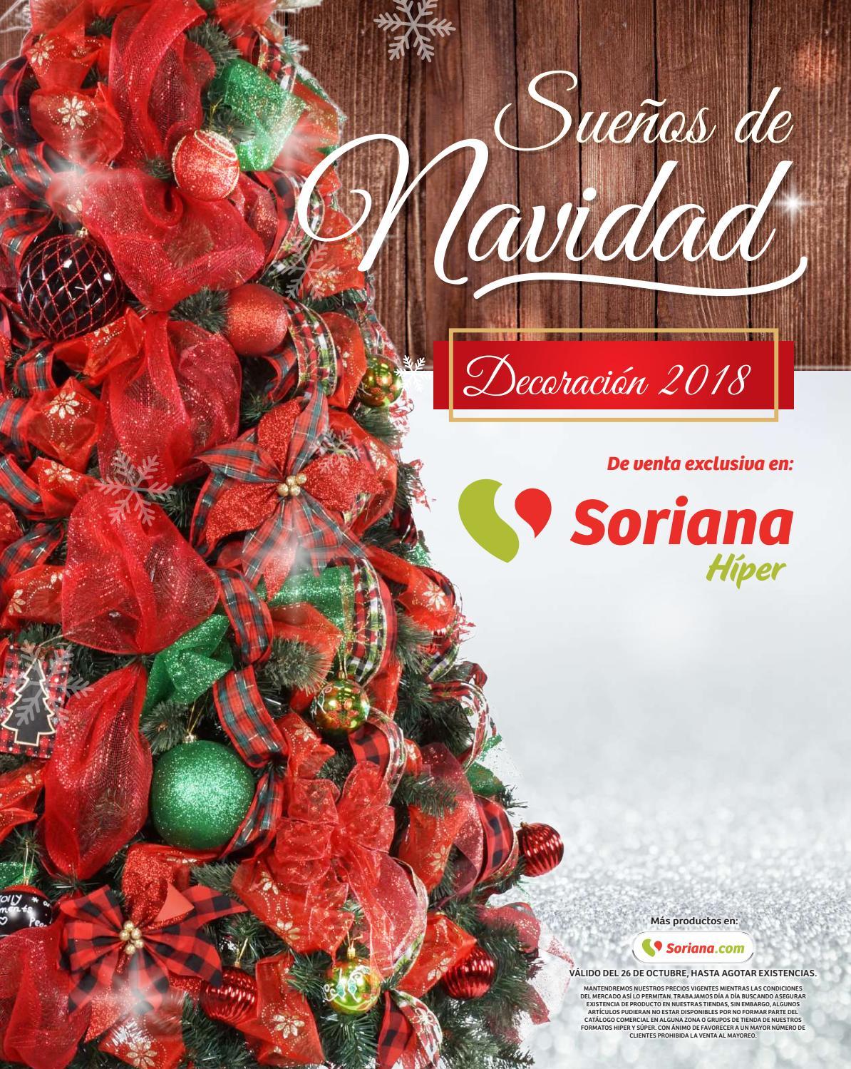 f3b77c9167cd5 Sueños de Navidad decoración 2018 Soriana Hiper by SorianaCom - issuu