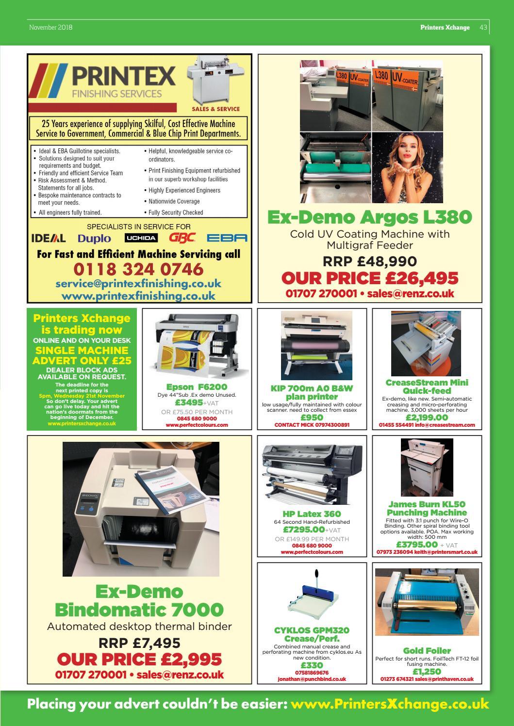 Quick Print Pro, November 2018