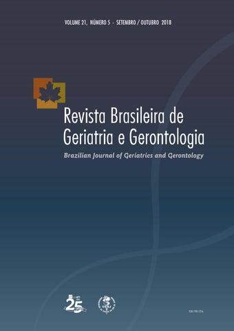 d8bd28b70 RBGG Vol. 21 Nº5 - Setembro/ Outubro 2018 - Português by Revista ...