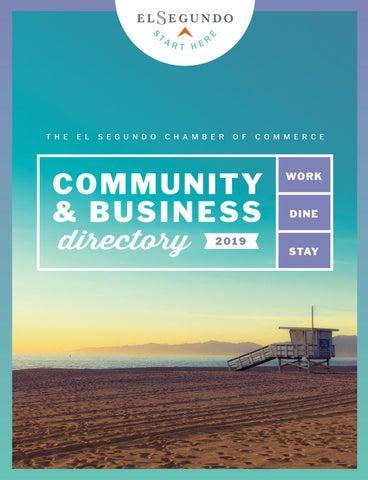 Raytheon El Segundo Campus Map.El Segundo Community Business Directory 2019 Edition By Atlantic