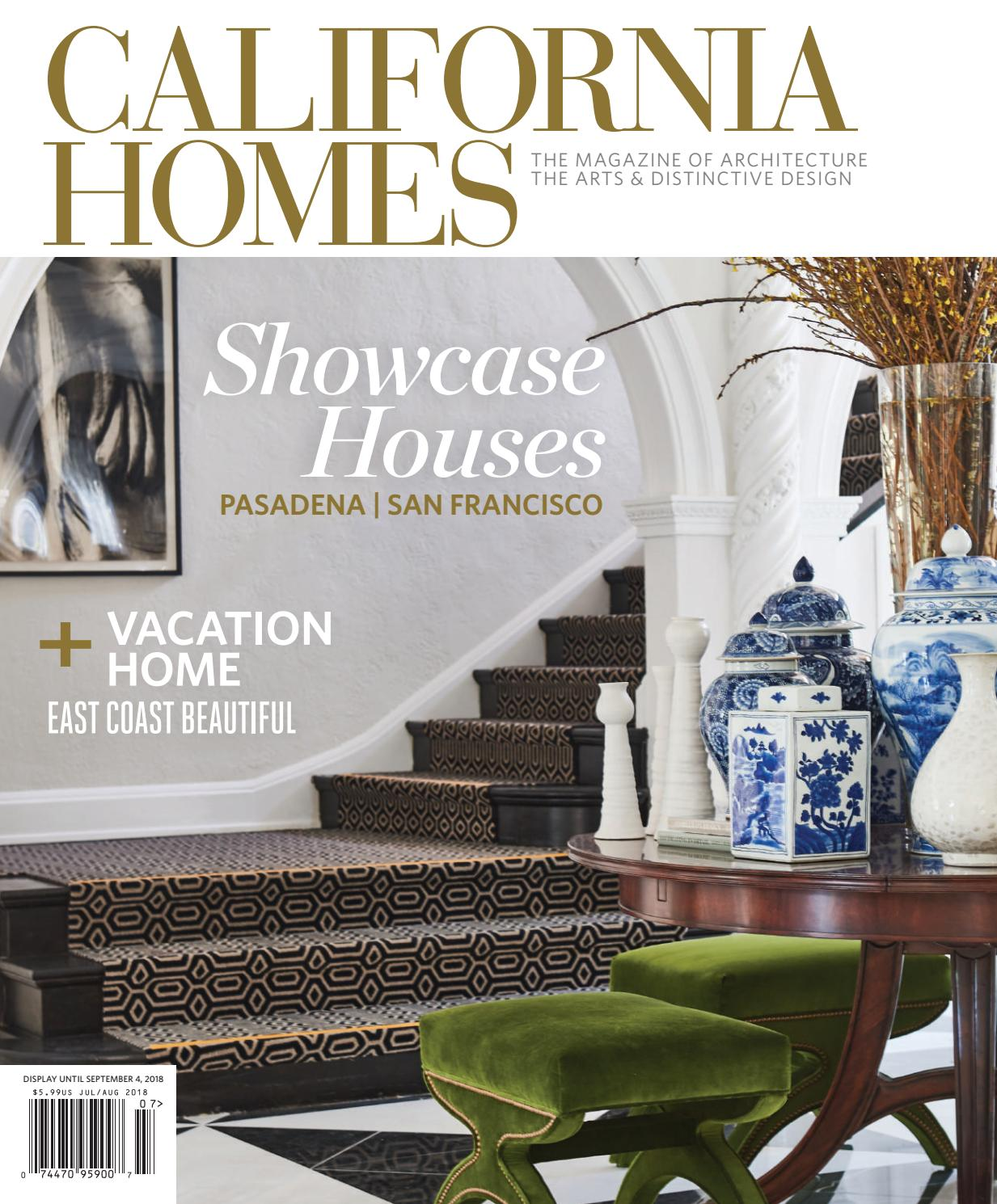 California homes july august 2018 by california homes magazine issuu