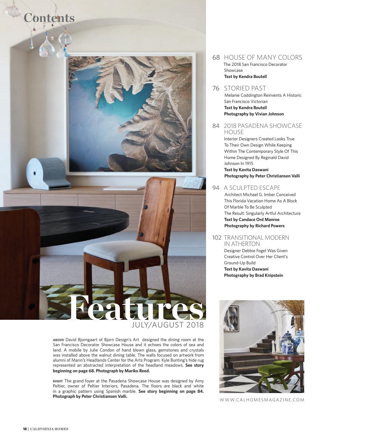 California Homes - July/August 2018 by California Homes Magazine - issuu
