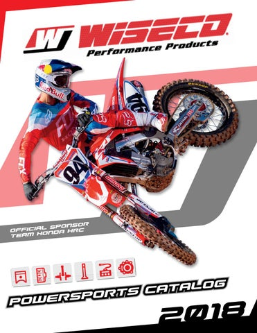 2018 Wiseco Powersports Catalog by Race Winning Brands - issuu