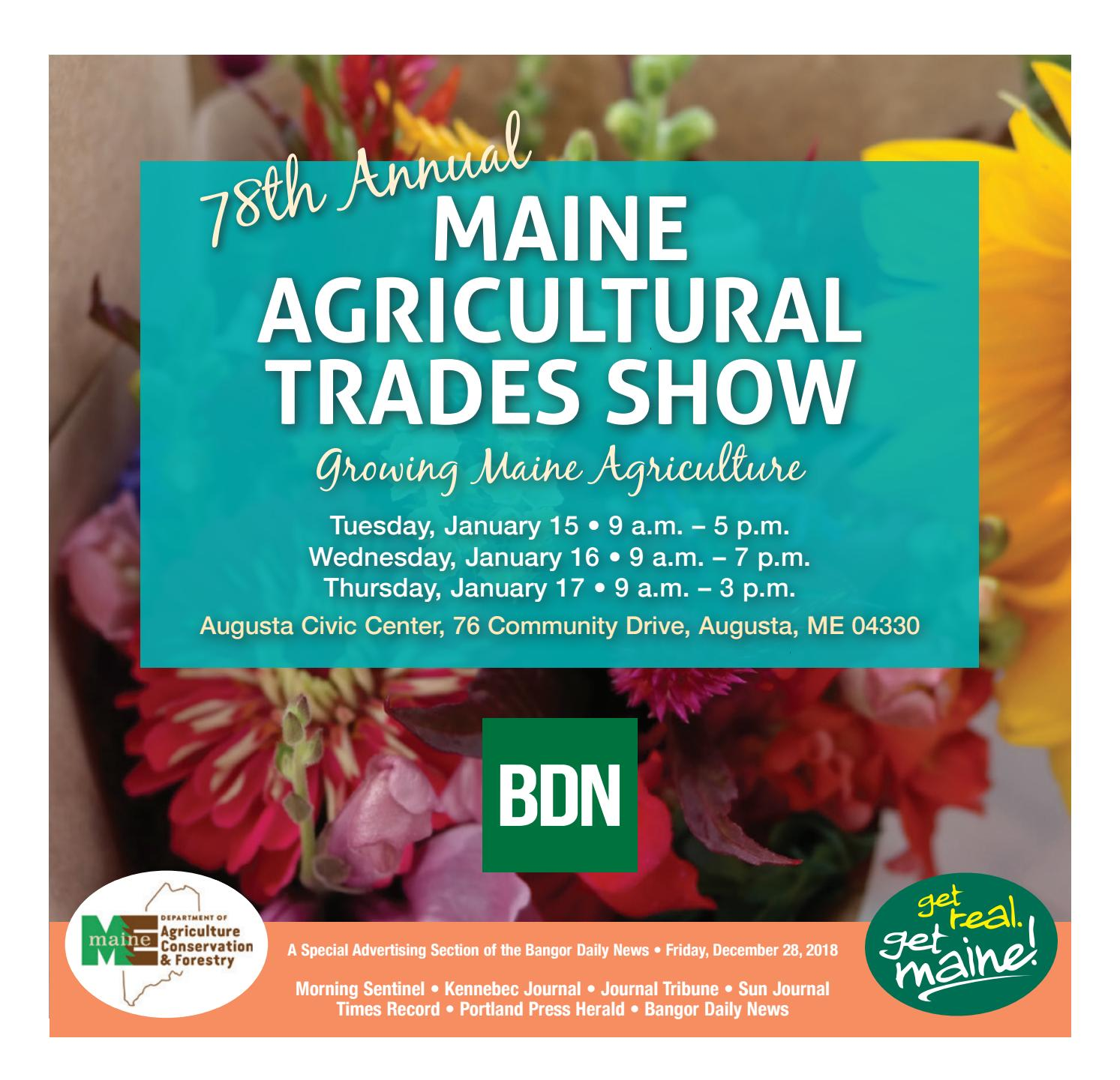 Maine Agricultural Trades Show Program by Bangor Daily News - issuu