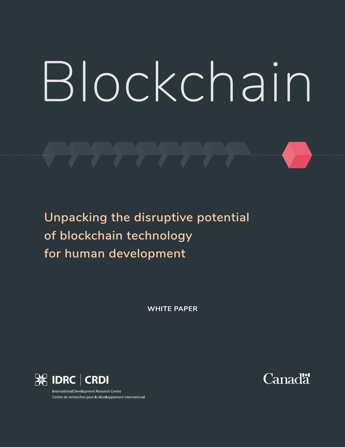 Blockchain: Unpacking the disruptive potential of blockchain