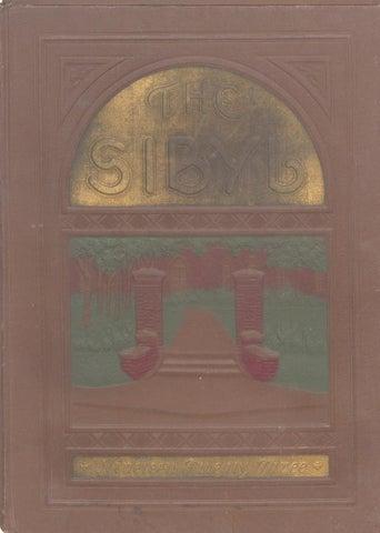 Sibyl 1923 By Otterbein University Issuu