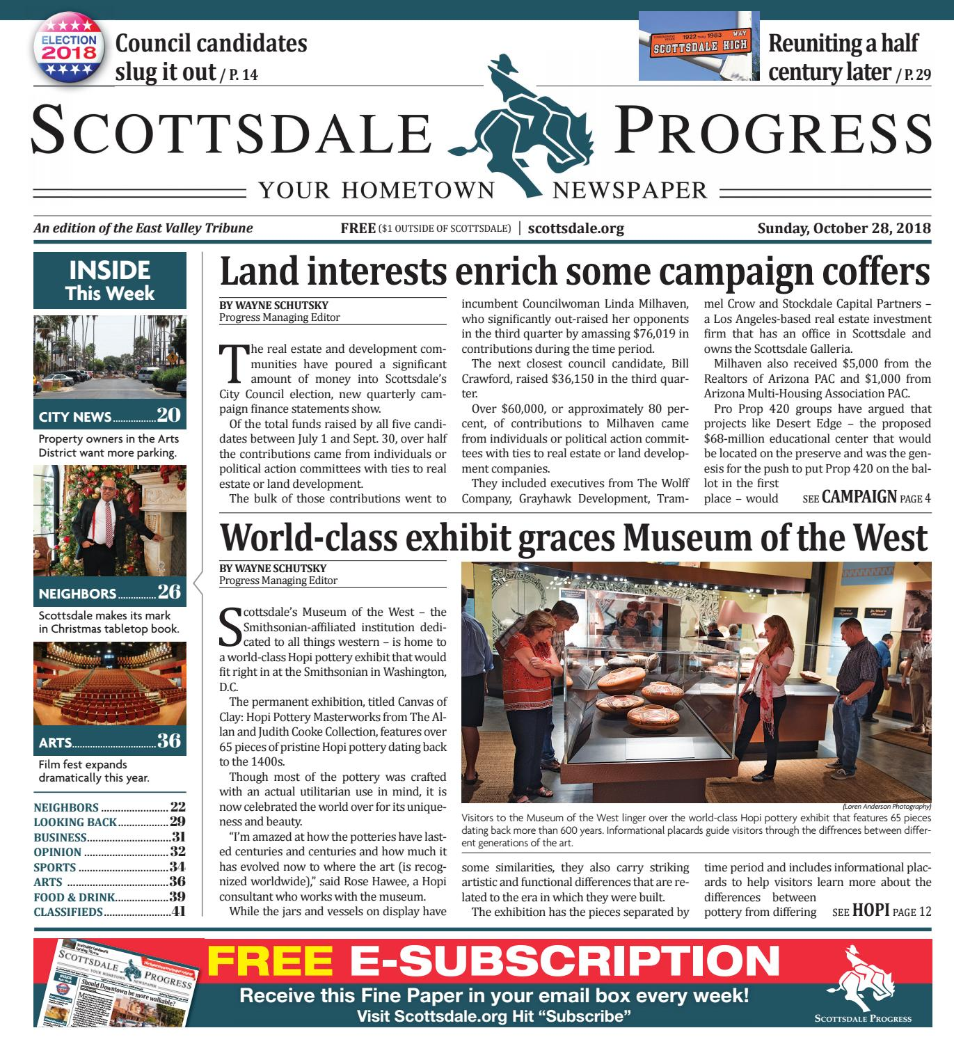 Scottsdale Progress - October 28, 2018 by Times Media Group