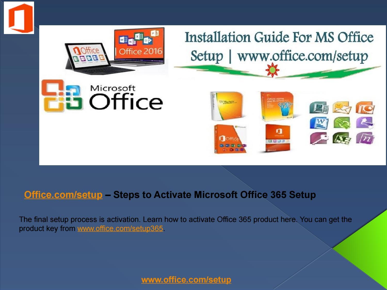 How to Activate Microsoft Office 365 Setup| office com/setup