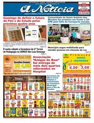 Edição de 27 e 28 de outubro de 2018 by Jornal A Notícia - issuu 92acea1c81