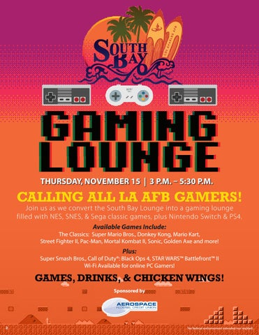 Page 2 of South Bay Gaming Lounge
