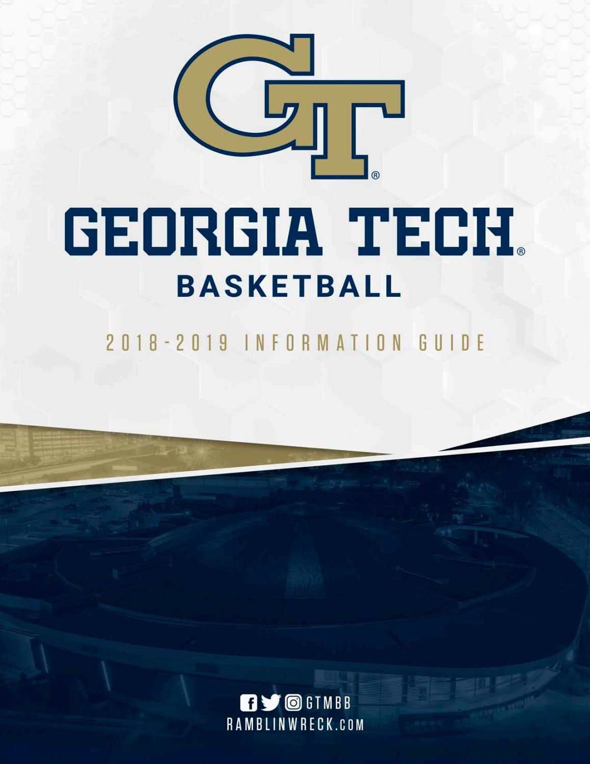 2018-19 Georgia Tech Basketball Information Guide by GTAthletics - issuu