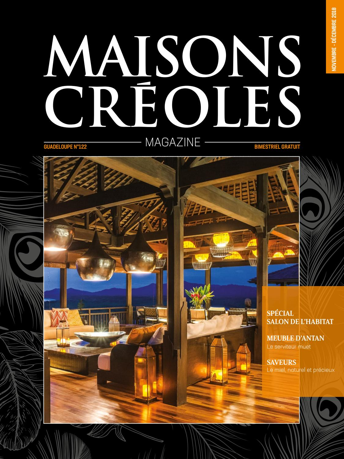 Créoles Creoles N°122 Issuu Magazine Guadeloupe By Maisons qzVpMSU