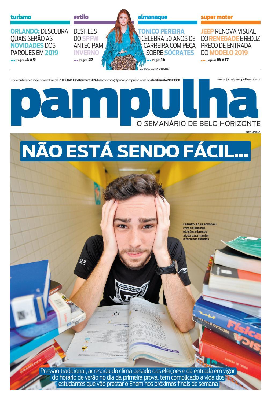 Pampulha, sábado - 27 08 2018 by Tecnologia Sempre Editora - issuu 99cfe89467