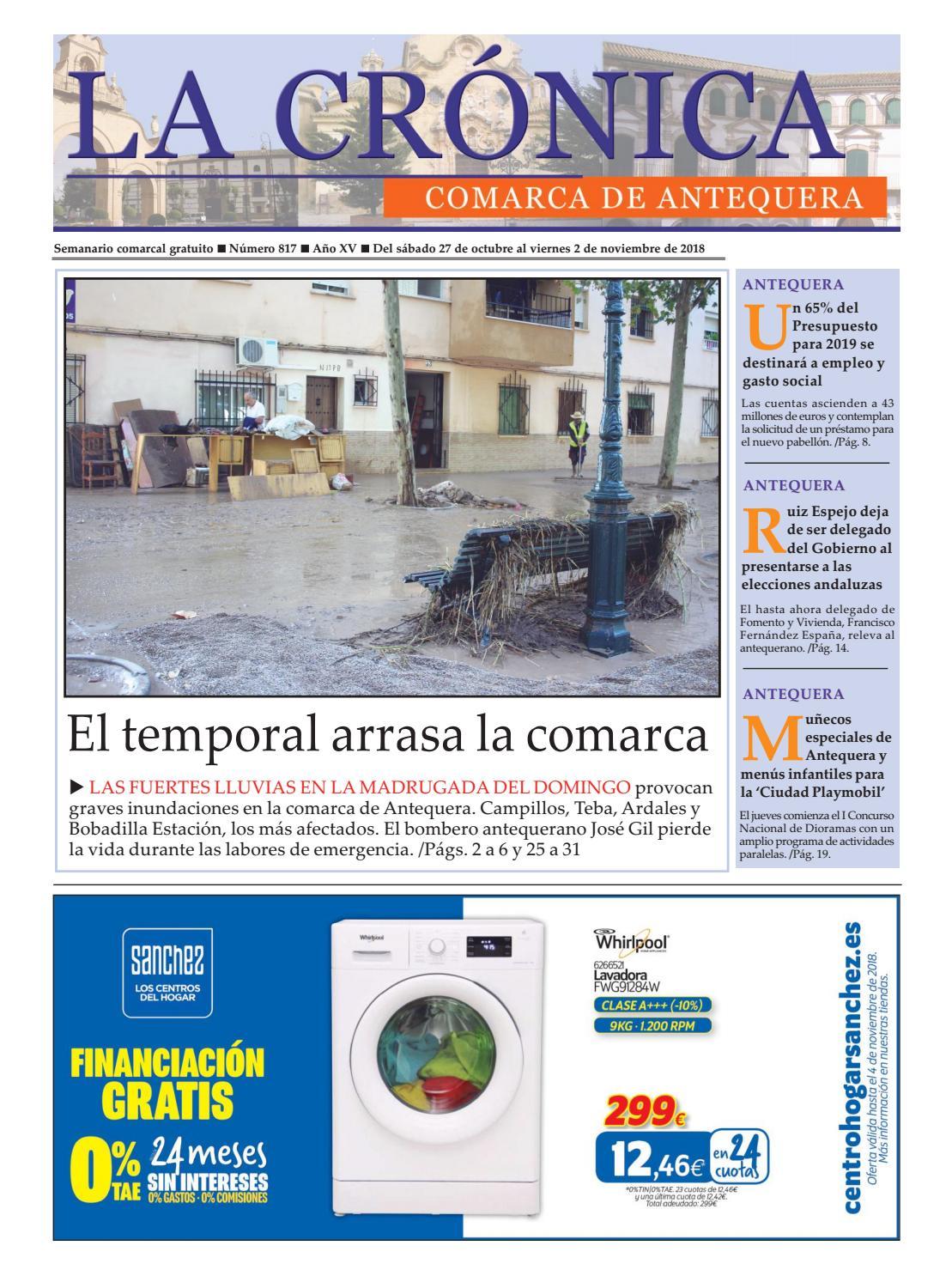 LA CRÓNICA 817 by LA CRÓNICA COMARCA DE ANTEQUERA - issuu 2ae834a6300
