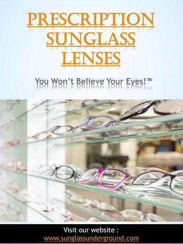 67748eb784 Prescription Sunglass Lenses by Sunglasses Lense - issuu