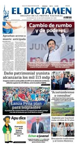 El Dictamen 27 de Octubre 2018 by El Dictamen - issuu 17e2147b8fe