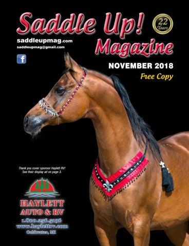 6d2f5f90d7d November 2018 Saddle Up! Magazine by Saddle Up! Magazine - issuu