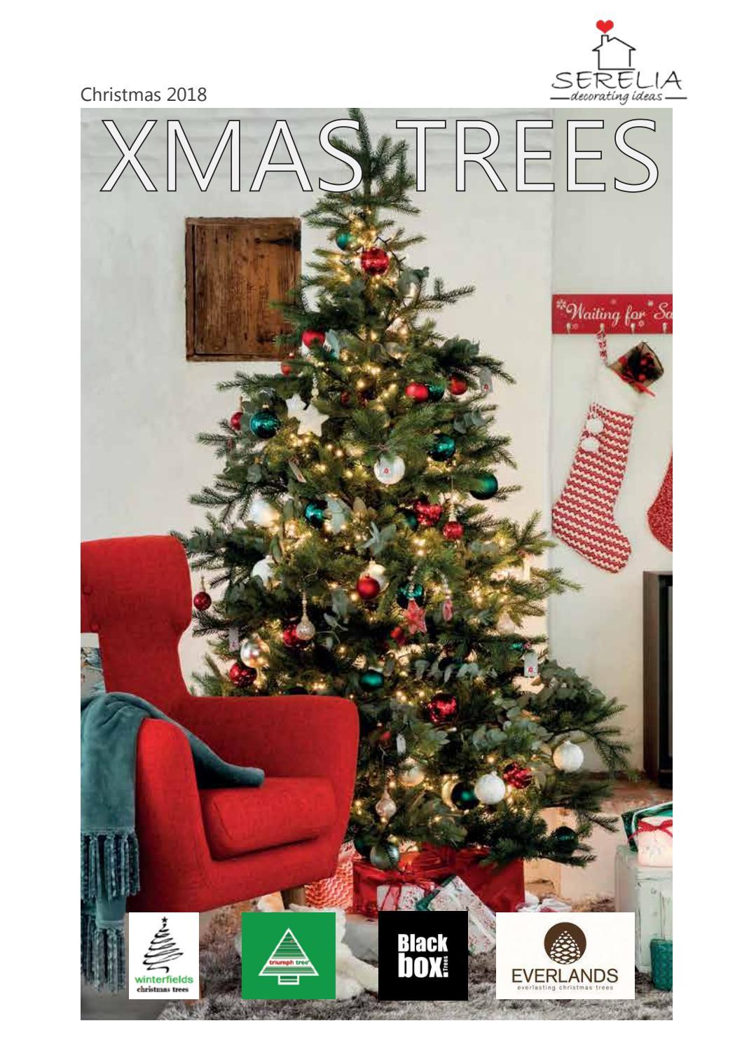 Christmas Trees Catalogue 2018 By Serelia Decorating Ideas Issuu