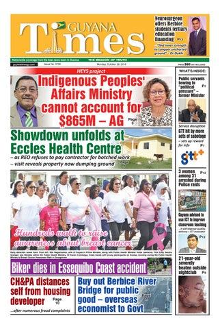 Guyana Times October 29 2018