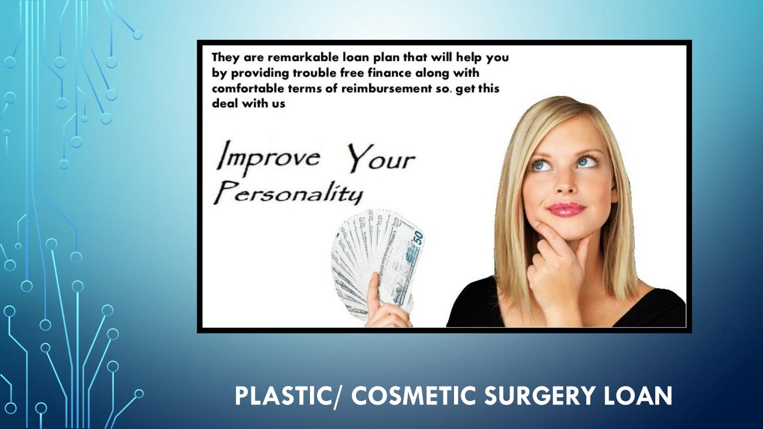 Plastic/ Cosmetic Surgery Loans - TLC by Total Lifestyle