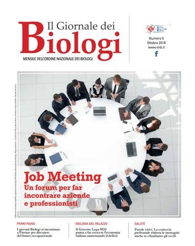 Il Giornale dei Biologi - N. 6 - Ottobre 2018 by Ordine Nazionale ... 60b3e378c435