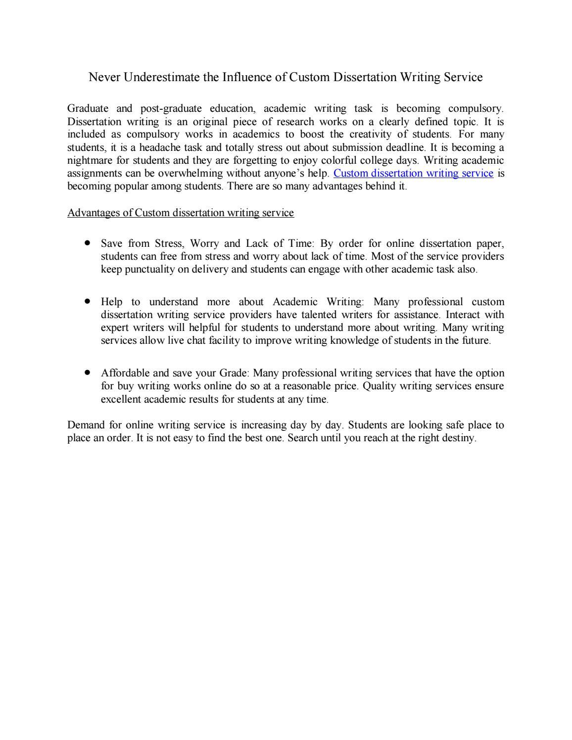 custom dissertation results writers sites