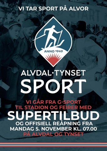 9bdc6161 Alvdal-Tynset Sport - Vi tar sport på alvor! by DMT AS - issuu