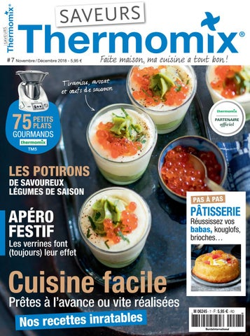 Saveurs Thermomix N 7 By Saveurs Magazine Issuu