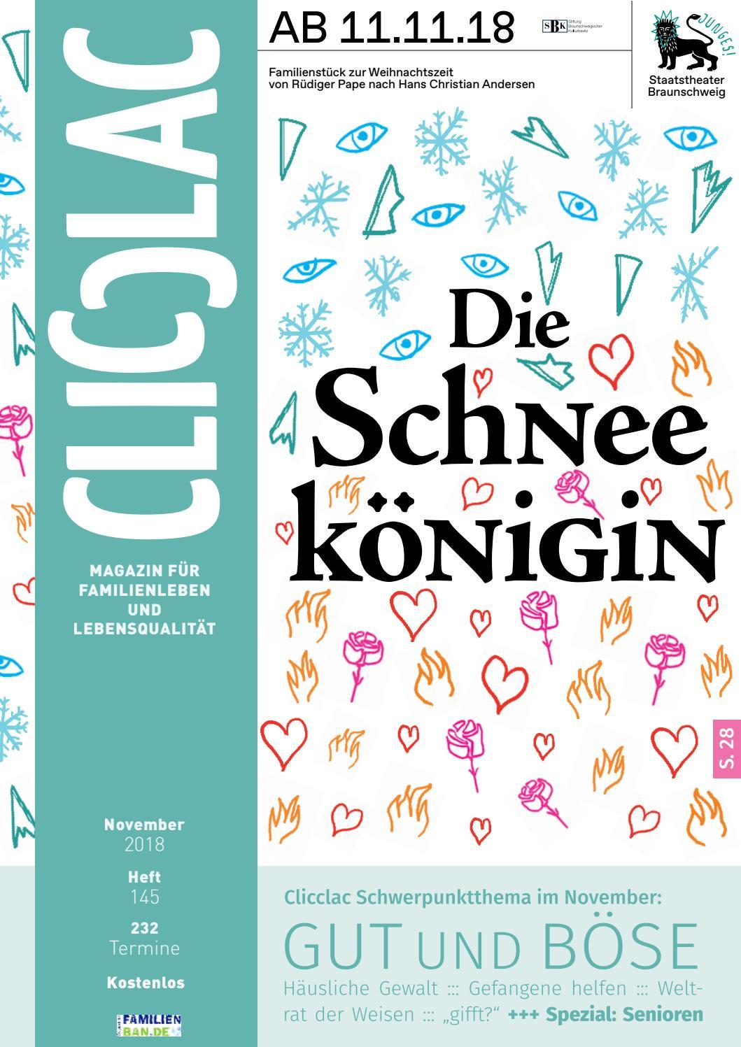 Clicclac November 2018 by Clicclac - Stadtmagazin für Familien - issuu