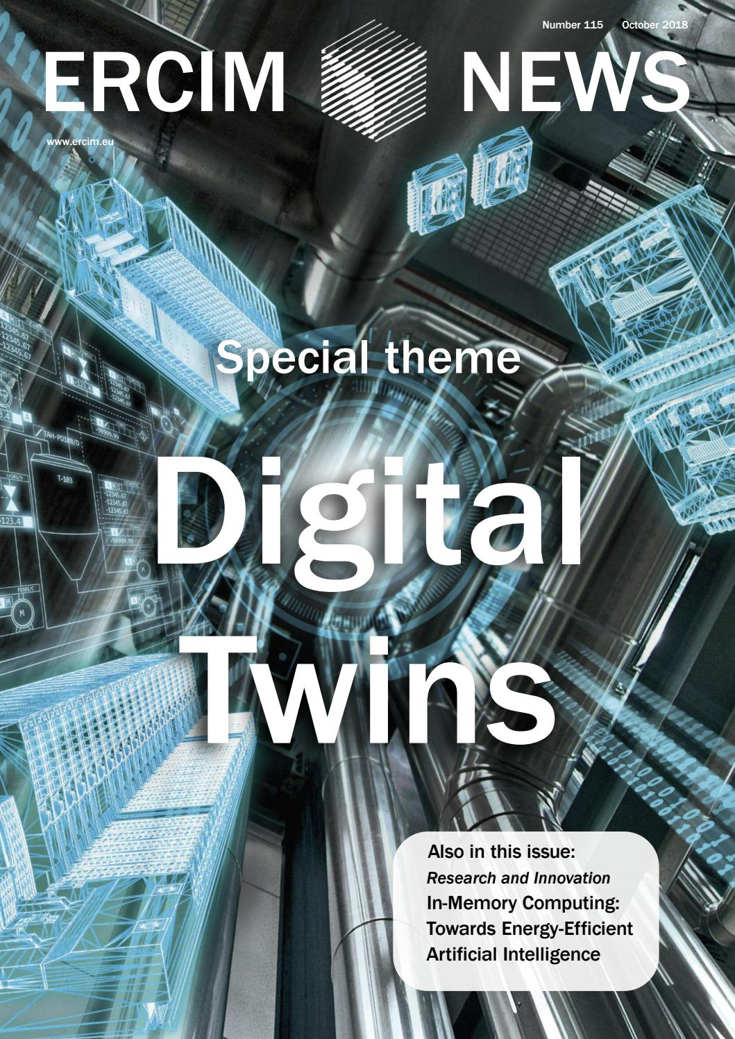Ercim News 115 Digital Twins By Peter Kunz Issuu Ricerche Correlate A Metal Detector Circuit Schematic