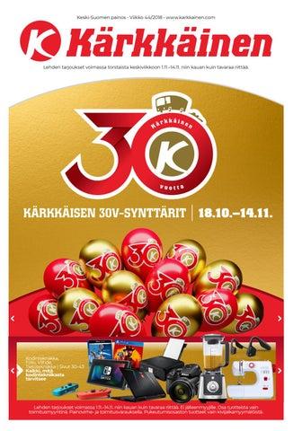 reputable site e9918 97cf0 Kärkkäisen mainos (44 2018) (K-S) by Tavaratalo J. Kärkkäinen Oy - issuu