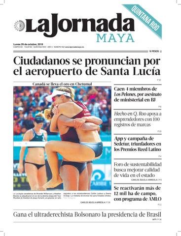 ede7406a67 La Jornada Maya · lunes 29 de octubre de 2018 by La Jornada Maya - issuu