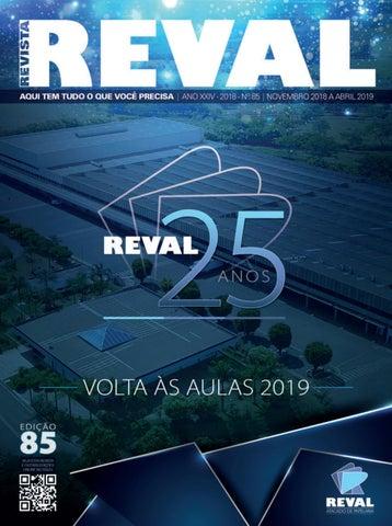 d5a0eb0a36479 Revista Reval 85 - Parte 01 by Reval Atacado de Papelaria Ltda. - issuu