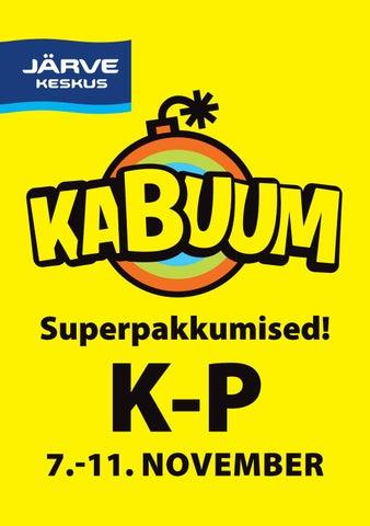 5215f8443b5 KABUUM Järve Keskuses 7.-11.11 by Järve Keskus - issuu