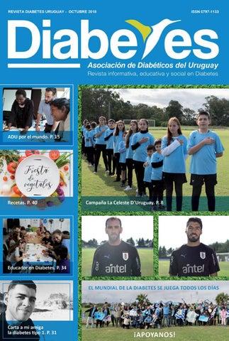 revista diabetes uruguay adu octubre 2018 by asociación de