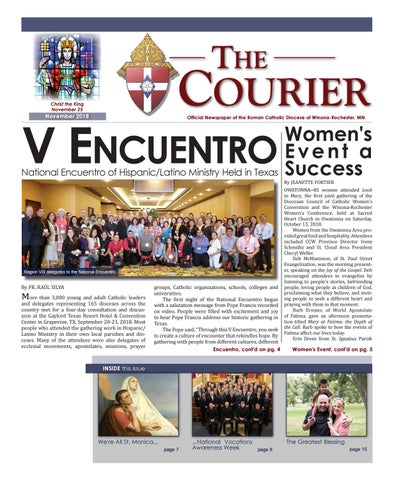 The Courier - November 2018 by Diocese of Winona-Rochester